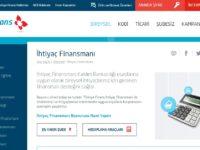 Türkiye Finans Katılım Bankası ihtiyaç finansmanı