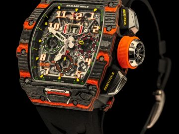 RM 11-03 McLaren Automatic Flyback Chronograph