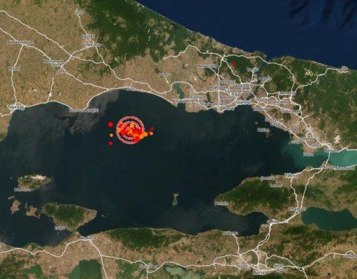 istanbul deprem bölgesi