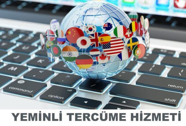 yeminli tercüme hizmeti