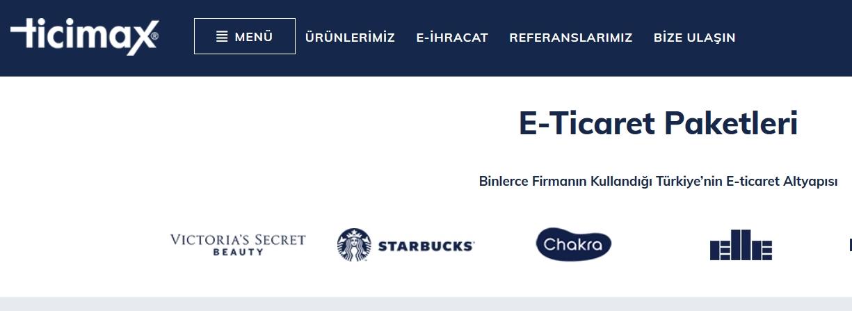 ticimax eticaret paketi