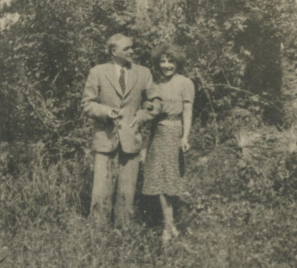 aliye berger ve eşiProf. Karl Berger ile